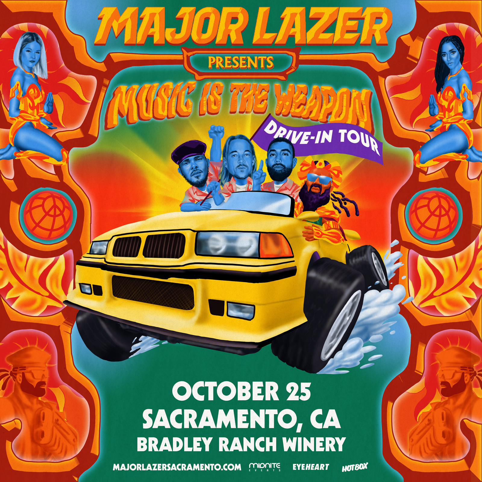 Major Lazer Sacramento