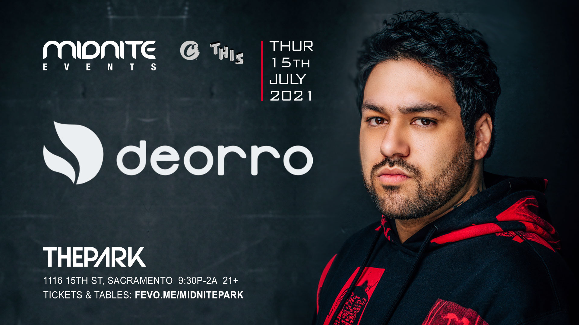 Deorro July 2021 event